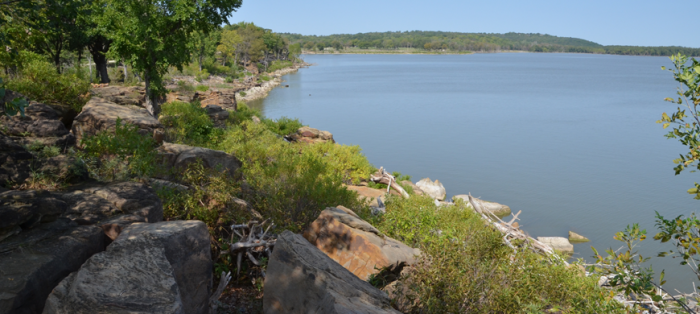 6.) Fall River Lake (Severy)