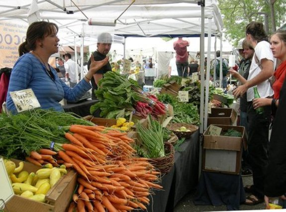 1. Farmers Markets