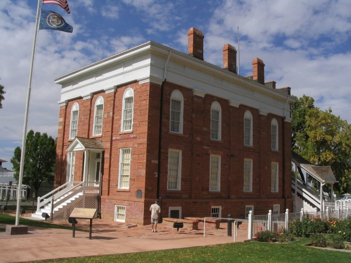 12) Learn Your Utah State History at the Territorial Statehouse State Park Museum