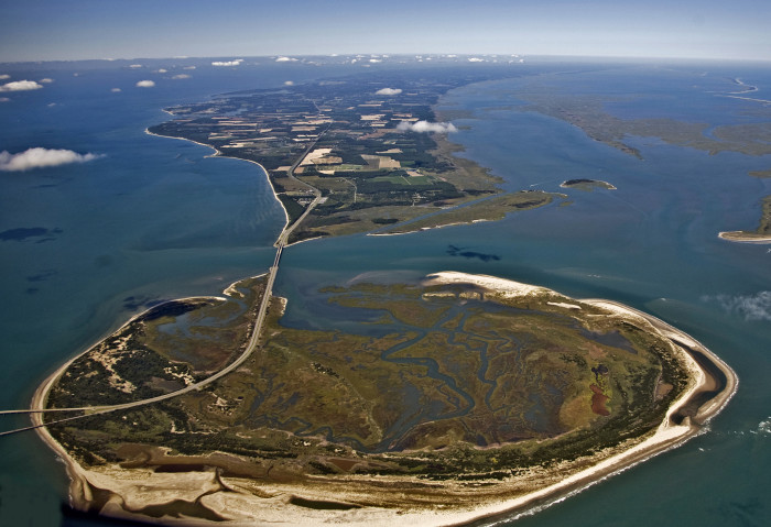 1. Fisherman Island National Wildlife Refuge on the Eastern Shore