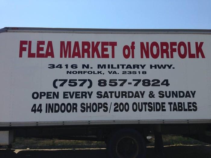 8. The Flea Market of Norfolk, Norfolk