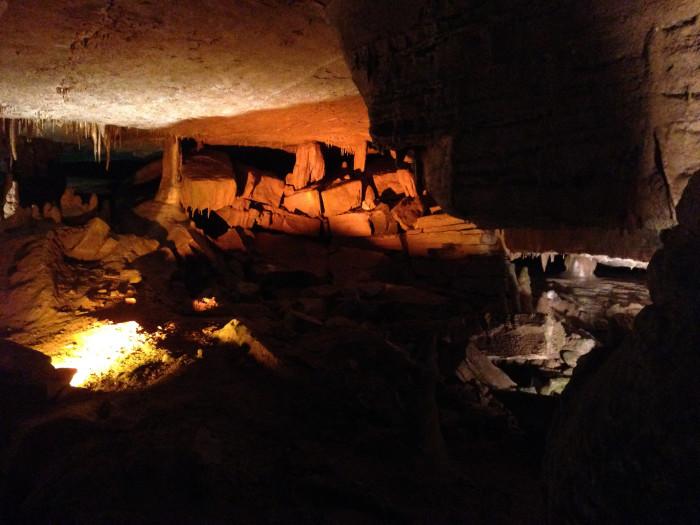 2) Forbidden Caverns - Sevierville