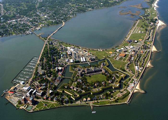 9. Fort Monroe in Hampton