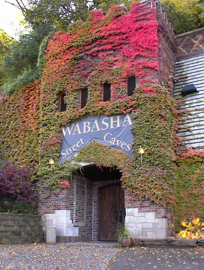 3. Man made, the Wabasha Street Caves are a one-of-a-kind underground event space that offesr fun murder mysteries and historic stories.
