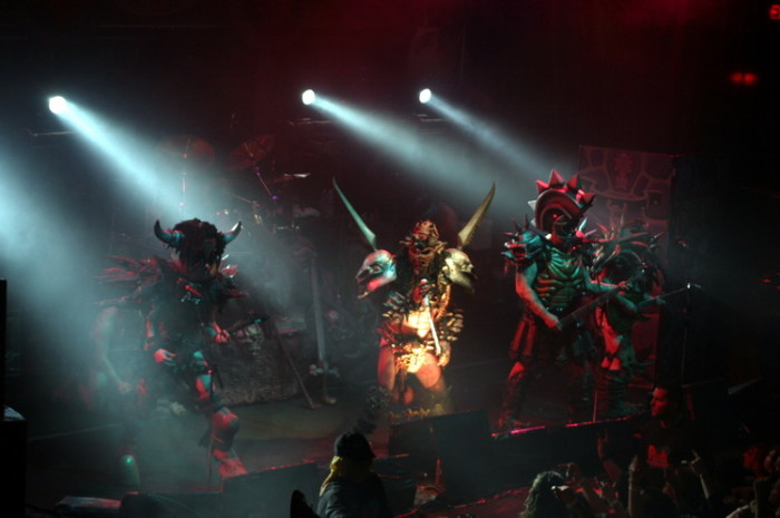 7. Punk reigned supreme with bands like GWAR taking center stage.