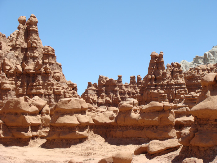 7) Visit Mars Without Leaving Earth at Goblin Valley State Park