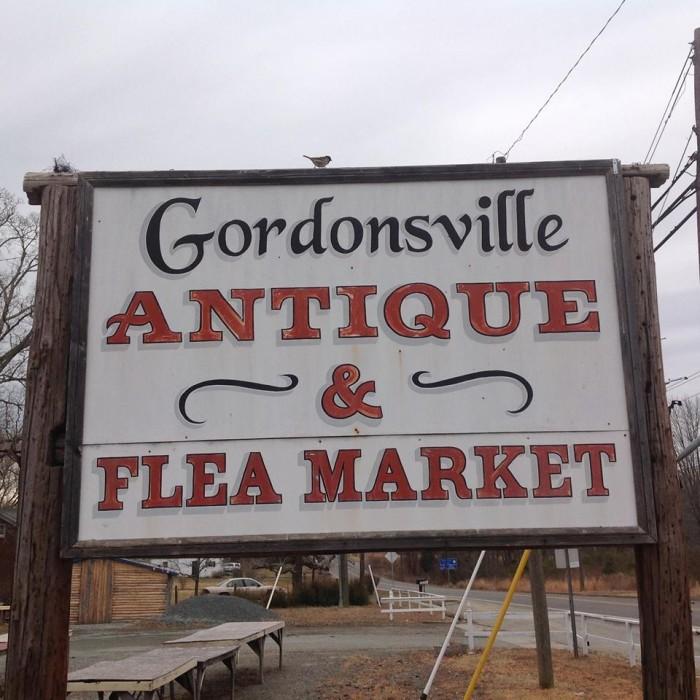 14. Gordonsville Antiques and Flea Market, Gordonsville