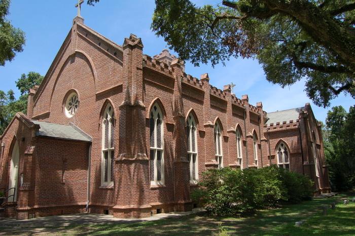 6) Grace Episcopal Church, St. Francisville, LA