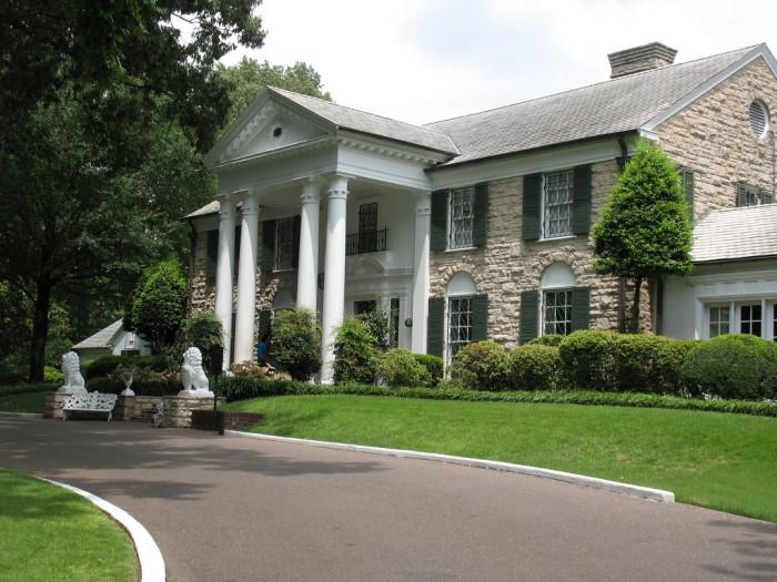 9) Graceland - Memphis