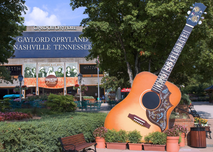 12) Plus, the Grand Ole Opry is located here