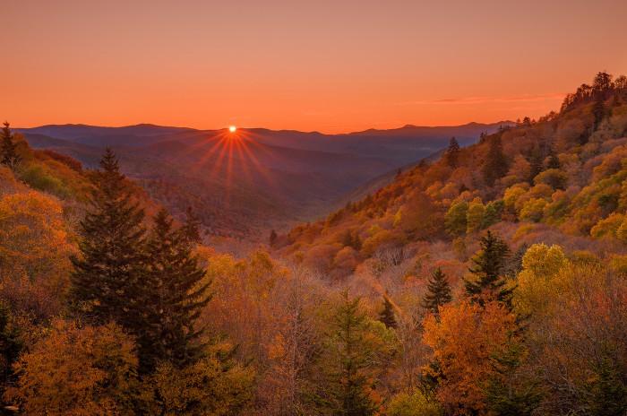 7) Great Smoky Mountains National Park - Gatlinburg
