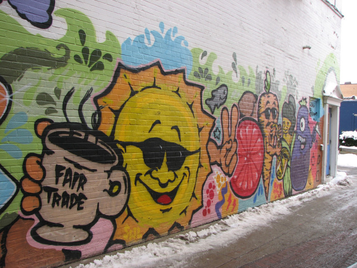 10) Green River Cafe Wall Art, East Lansing