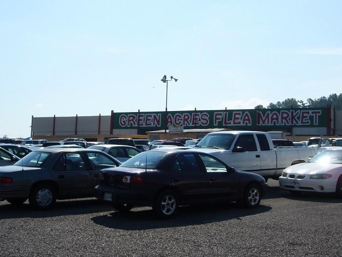9) Green Acres Flea Market - Louisville