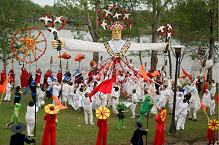 15. Mayday Parade & Festival   - Puppets and masks galore, and a phenomenal parade!