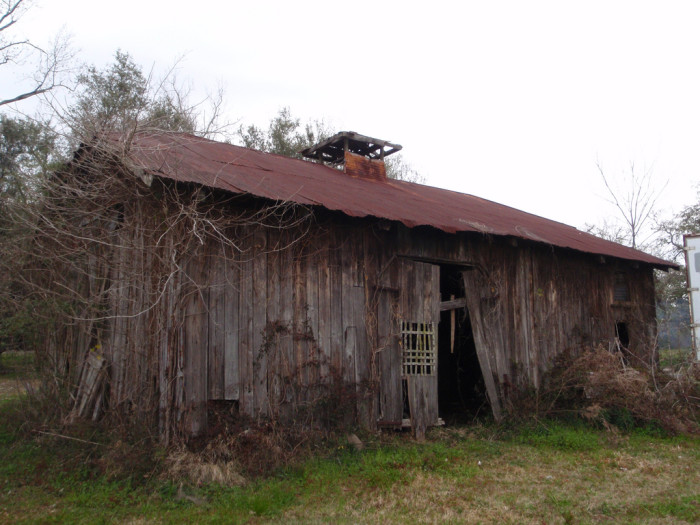 3) A well used barn in Southern Louisiana.
