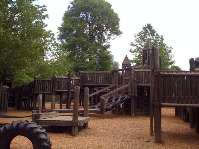 9. Hand-in-Hand Playground, Blacksburg