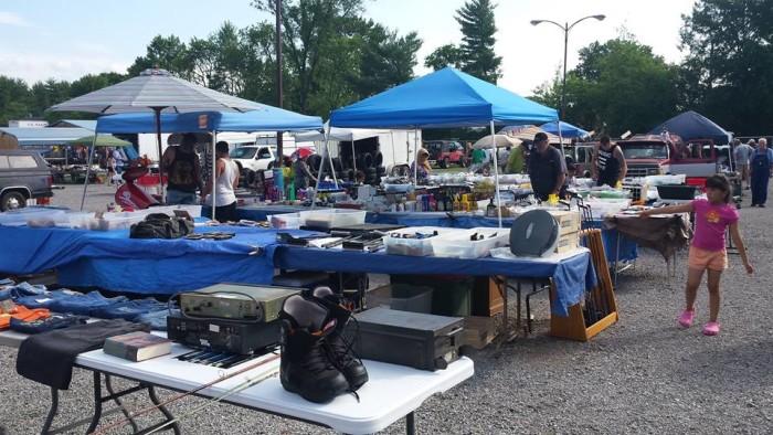 9. Happy's Flea Market, Roanoke