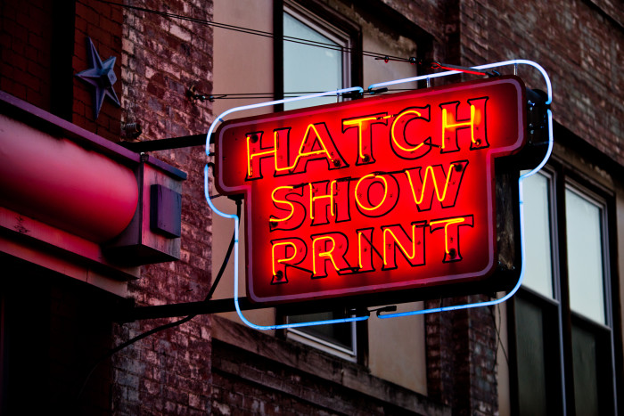 7) Hatch Show Print - Nashville