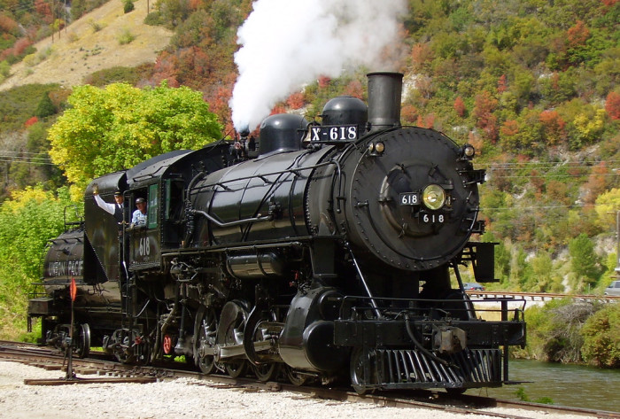 3) Take a Ride on the Heber Valley Railroad