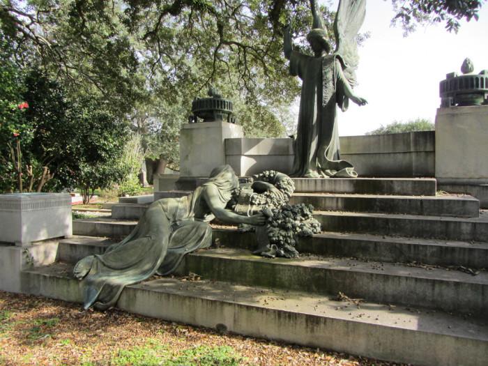 2) Hebrew Rest Cemetery, Lafayette, LA