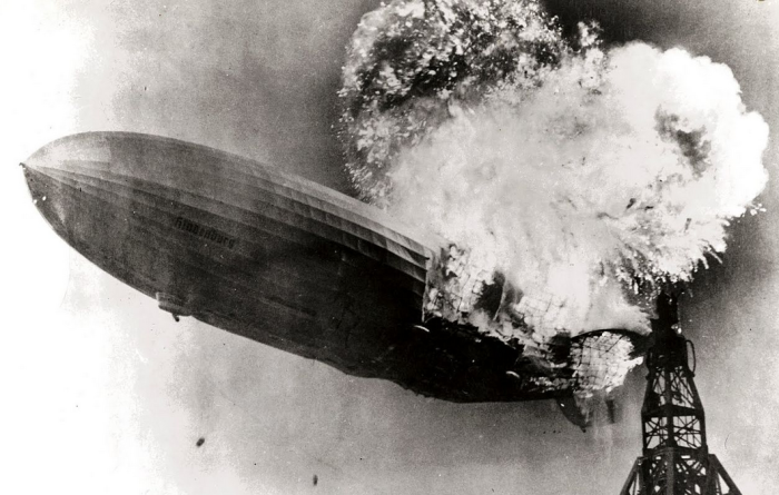 5. Hindenburg Fire - May 6, 1937