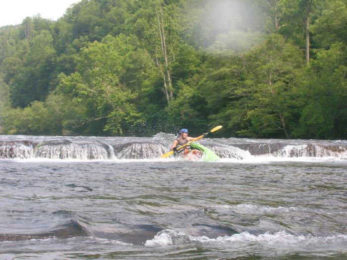 7) Hiwassee State Scenic River -  Delano