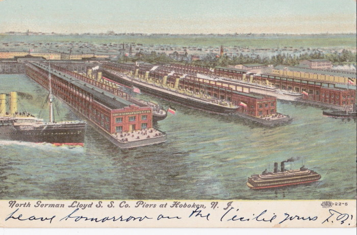1. Hoboken Docks Fire - June 30, 1900