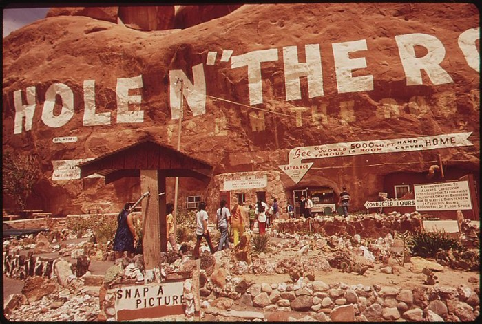 15) Begging to Stop at Hole in the Rock During Your Vacation to Moab