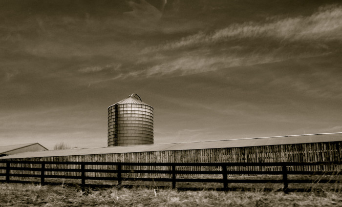 5. Merging of the Worlds: A Farm Silo from I-66