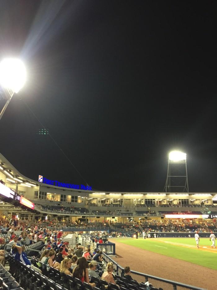 8) Sounds Stadium - Nashville