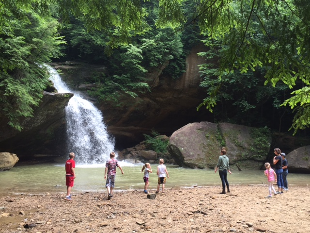 8) Chase waterfalls. They're scattered all throughout Ohio.