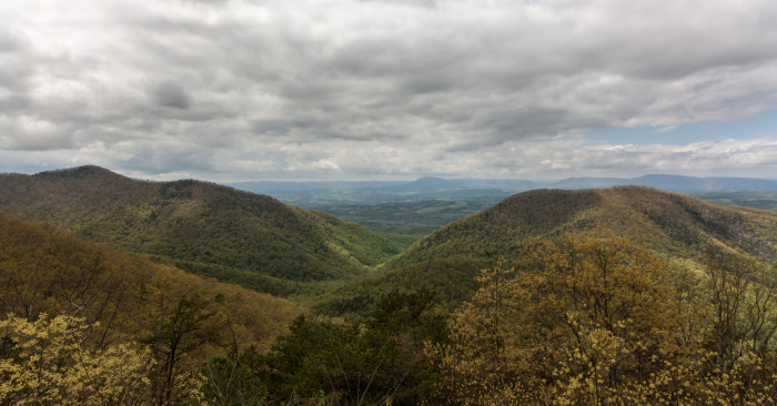 4. Irish Creek Valley Overlook along the Blue Ridge Parkway, Amherst County