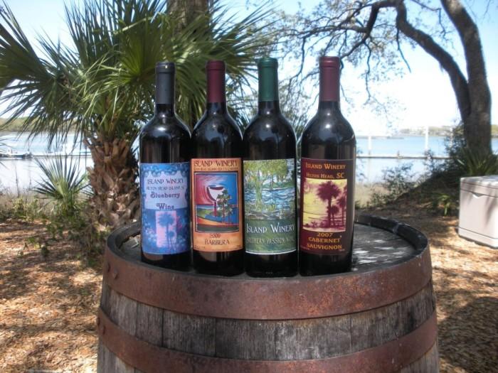 5. Island Winery, 12 Cardinal Rd # A, Hilton Head Island