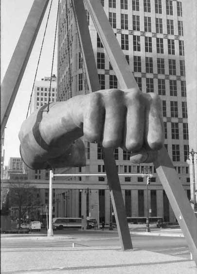 7) Monument to Joe Louis