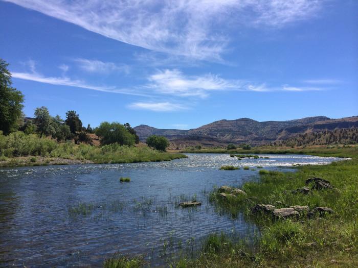8) John Day River