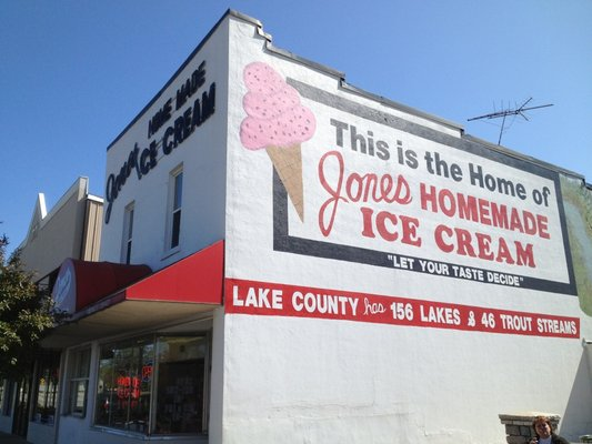 1) Or indulge in an icy, creamy cone from one of your favorite parlors