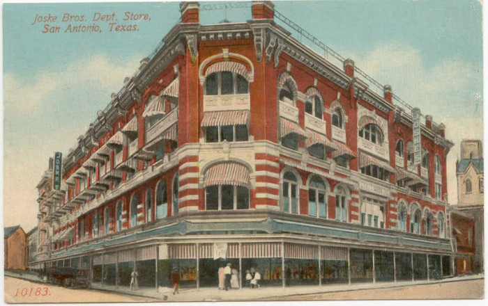 4) Joske's Department stores, before Dillard's bought them in 1987.