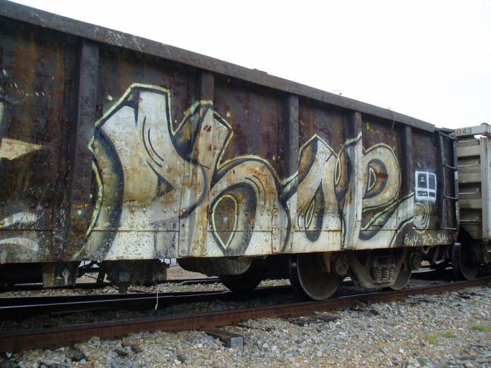 11) Boxcar Art