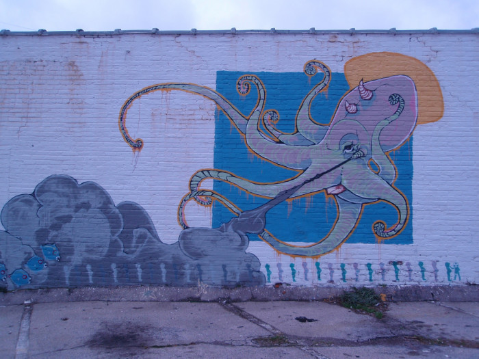 10) The octopus of Knoxville makes an appearance!