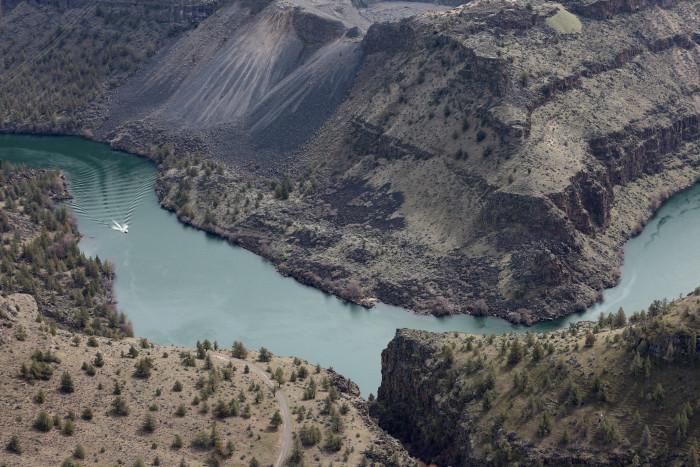 8) Lake Billy Chinook