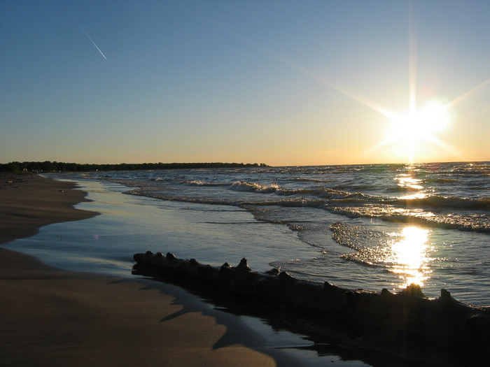 7) And, of course Lake Huron