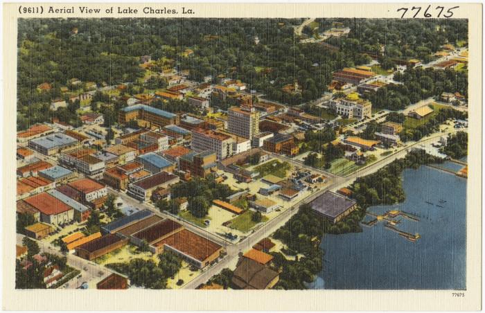13) Lake Charles
