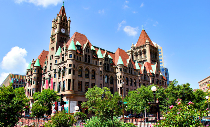 9. The Landmark Center, a cultural and event center in Saint Paul is perfect for weddings and has a bustling calendar of events to check out.