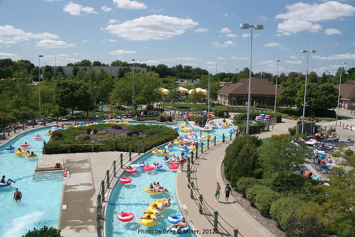 7. Cascade Bay in Eagan is another waterpark wonder with mini-golf too! And the cost of the season pass is about the cost of a dinner for four so it's absolutely worth repeat visits!