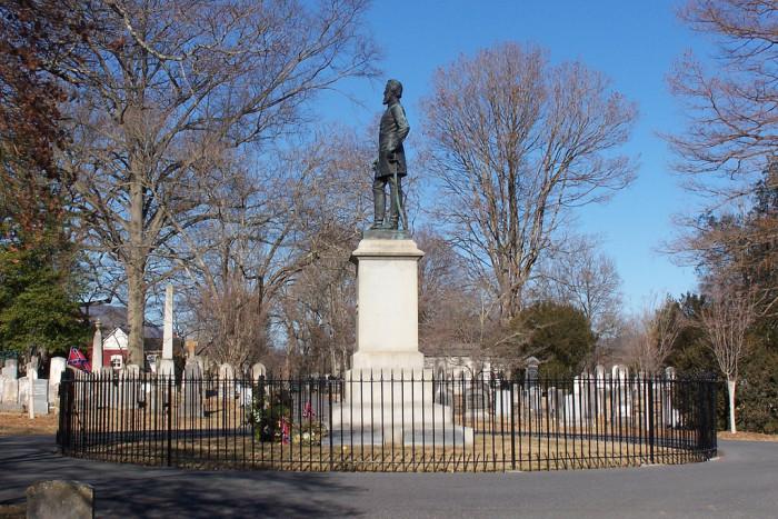 Lexington grave