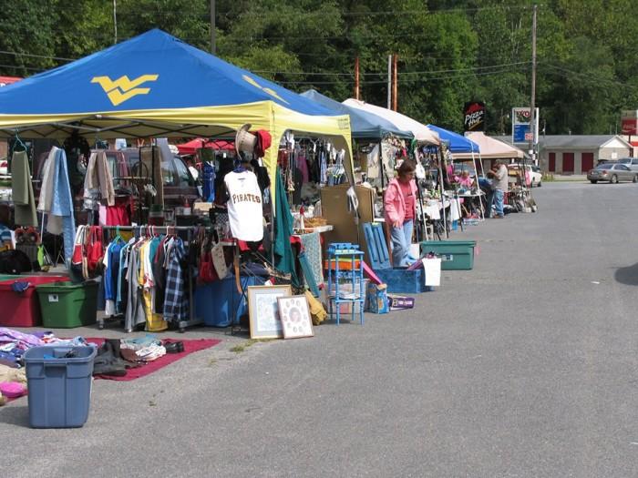 10. The Logan County Rt. 44 Flea Market