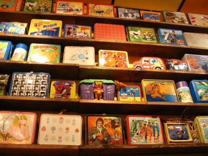 3. Metal Lunchboxes