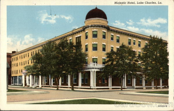 6) The Majestic Hotel, Lake Charles, LA