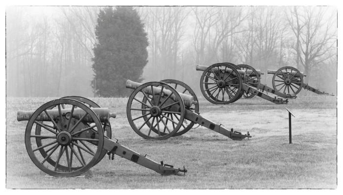 7. The Malvern Hill Battlefield Gunline