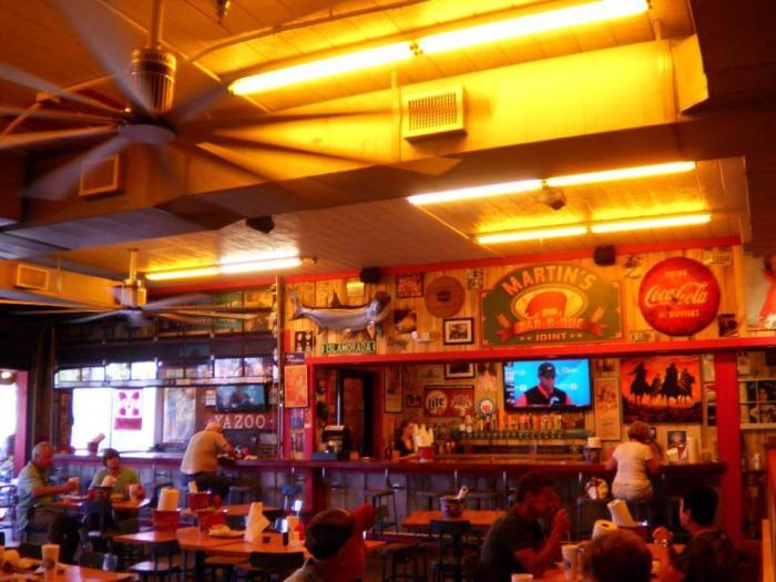9) Martin's Bar-B-Que - Nashville Area
